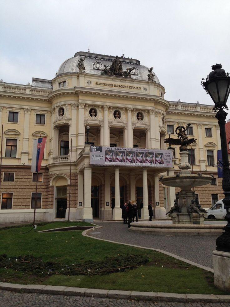 Der Präsidentenpalast von Bratislava