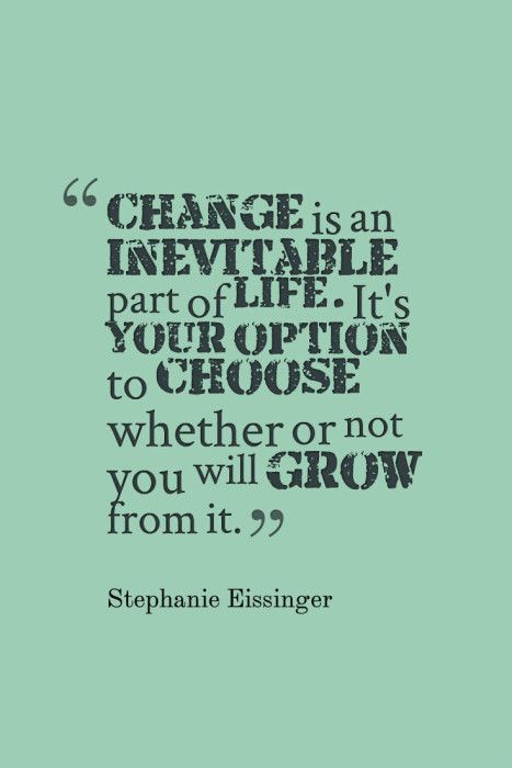 Change is inevitable  When a relationship breaks up, it brings change. Some of those changes are beyond our control, but others can be conscious choices we make to learn and grow from our relationship experience.  What wisdom have you gained through self-reflection after the breakup of a relationship?  www.sagebrushcoaching.com/dealing-with-breakup-of-a-relationship/