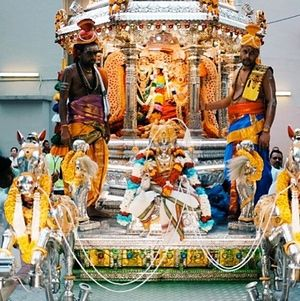 Silver Chariot Procession, Singapore