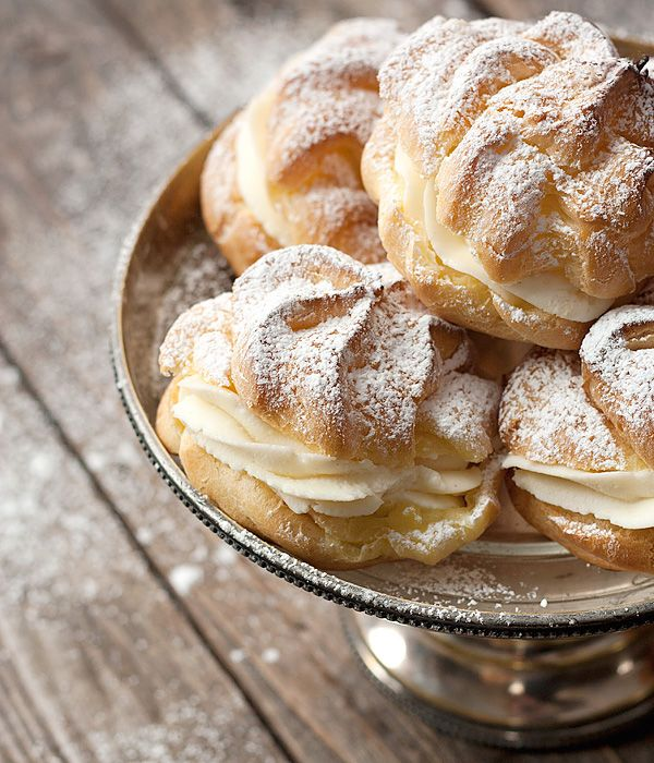 Cannoli Cream Puffs - Takes cream puffs in a different direction, with a classic cannoli filling. Enjoy them plain or try some of the variations suggested in the recipe. These are best right after they are made but will keep uncovered in the fridge for several hours.