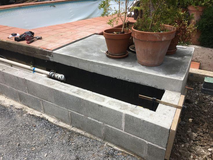500mm x 300 mm x 30mm sandstone veneer over block work