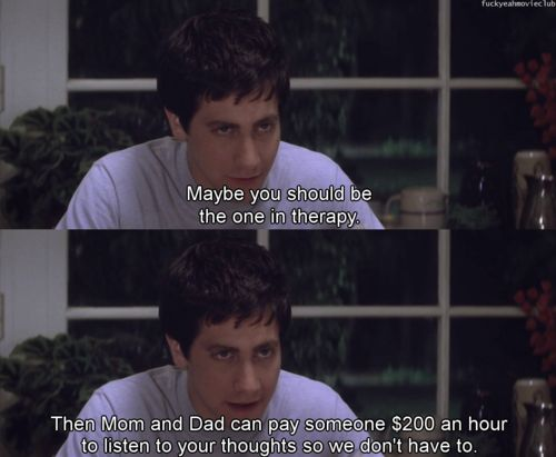 Donnie darko quote anus
