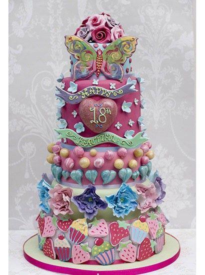 Happy Birthday Cayla Cake