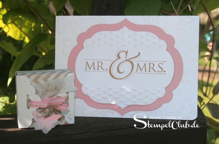 Leipzig stempelt - mit Stampin' Up!® Wedding, Mr. & Mrs., Hochzeitskarte