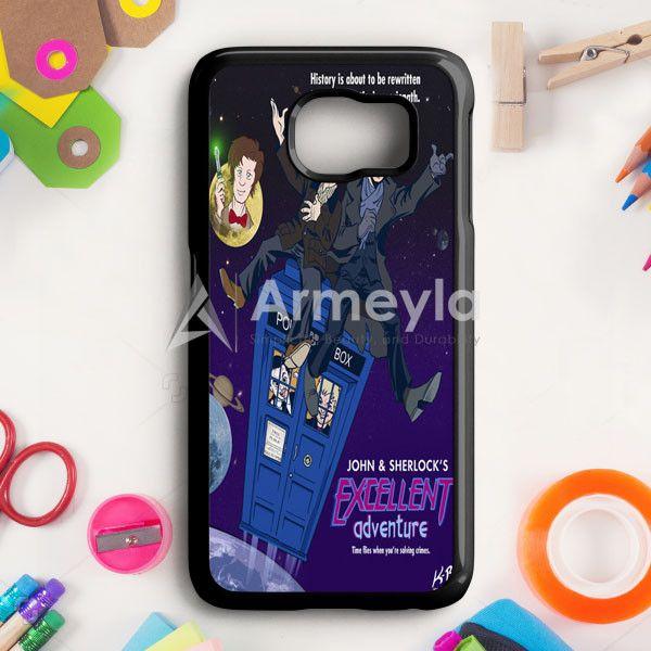 Tardis Sherlock John Samsung Galaxy S6 Case | armeyla.com