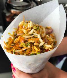 Karnataka Style Churumuri (Spicy Puffed Rice Recipe)