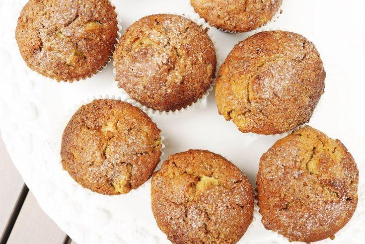 Rebarborovo-skořicové muffiny