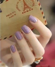purple nail art glitter 2014 | See more nail designs at http://www.nailsss.com/french-nails/2/