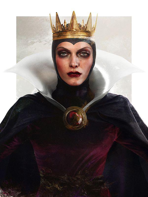 "Evil Queen from ""Snow White"" - Art by Jirka Vinse Jonatan Väätäinen"