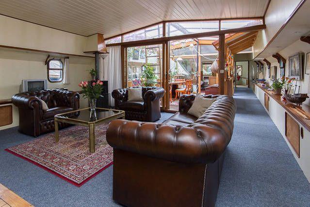 Sfeervolle ruime woonboot bij centr | Airbnb Mobiel