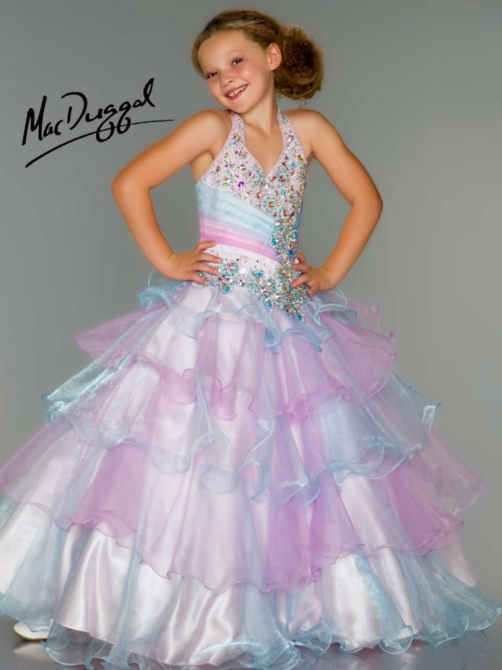 Child girl pageant dress... Beautiful
