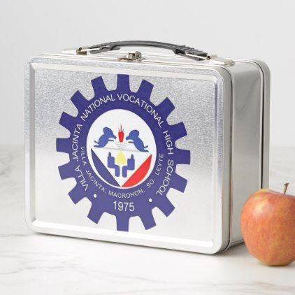 Southern Leyte Philippines School Logo Metal Lunch Box - home gifts cool custom diy cyo