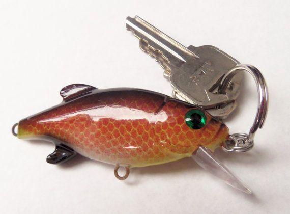 Lure keychain. DIY