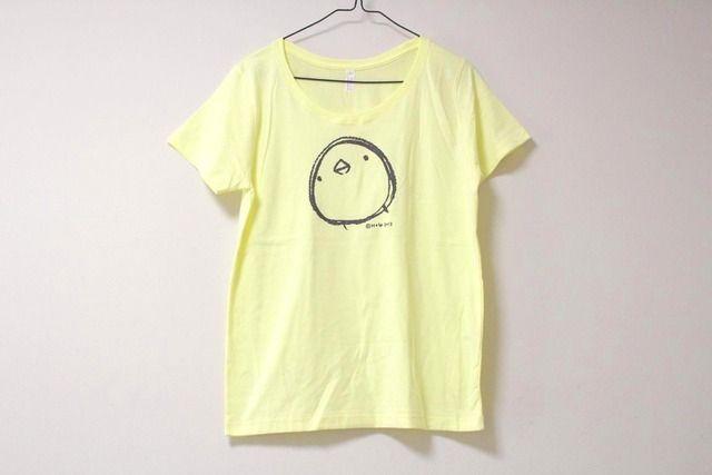 ひよこさんシンプルTシャツ 女性用L ミルキーイエロー