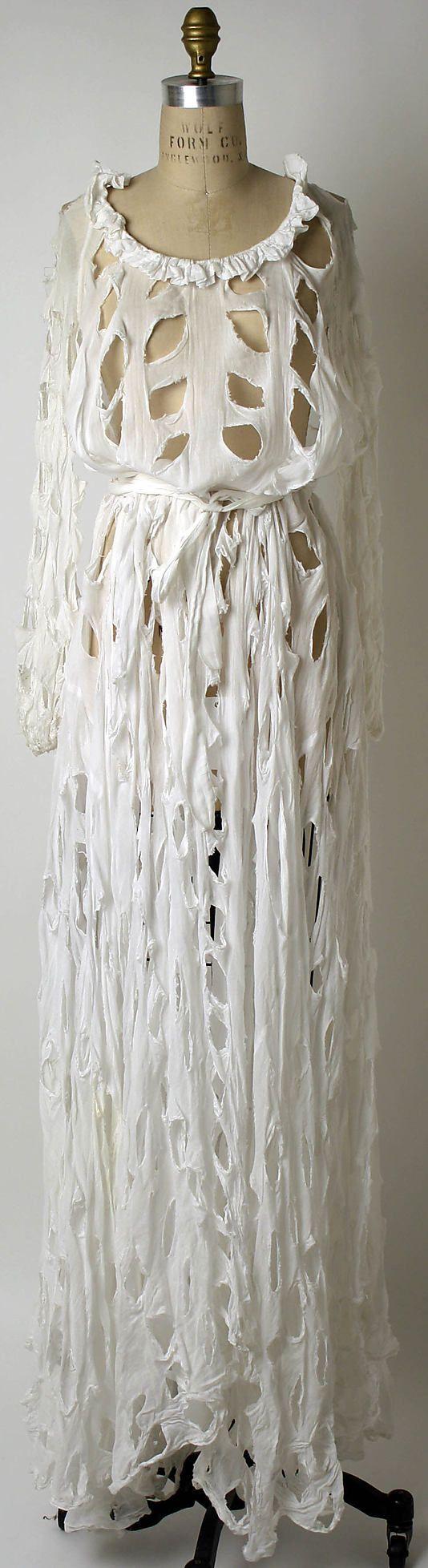 Vivienne Westwood (British, born 1941). Dress, spring/summer 1991. British. The Metropolitan Museum of Art, New York. Millia Davenport and Zipporah Fleisher Fund, 2006 (2006.15a–d) #punkfashion