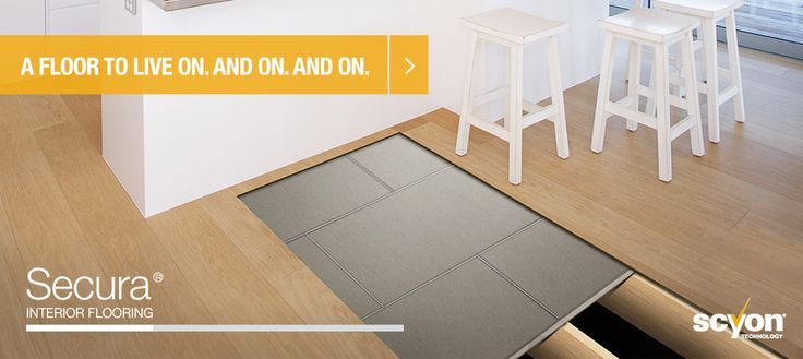 Here you can see what's going on under your tile or slate floors when you use James Hardie Secura Interior Flooring #jameshardie #secura #safeflooring #flooringtricks #flooringsupport #kitchenfloor
