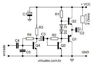 Virtuatec Electronics – Professionelle Elektronik und Hobby: Mini-Audioverstärker  – TDA2004(К174УН15) & К174УН7