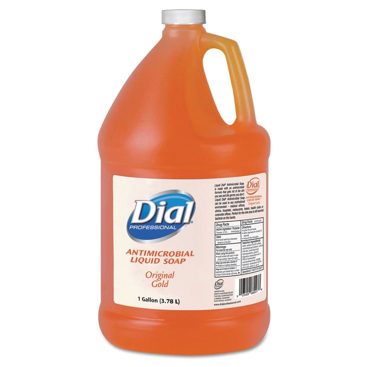 Dial Professional Antimicrobial Soap Floral Fragrance 1gal Bottle