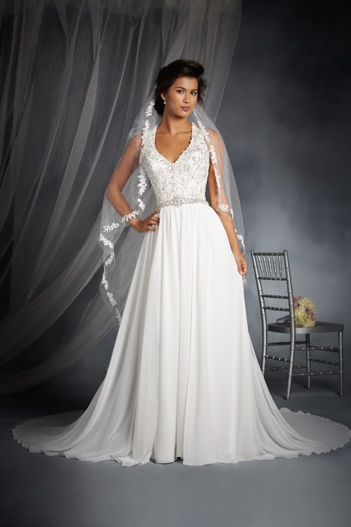 Jasmine Inspired Wedding Dress