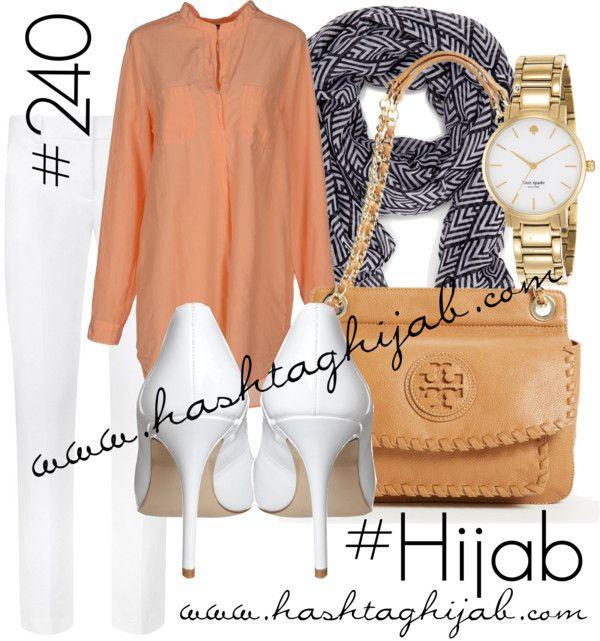 Hashtag Hijab Outfit #240 van hashtaghijab met white crop pantsRobert Friedman long sleeve blouse€54-yoox.comTheory white crop pants€200-harrods.comZign high heel shoes€75-zalando.co.ukTory Burch shoulder bag€330-nordstrom.comKate spade bracelet€315-asos.comSole Society chevron scarve€18-solesociety.com