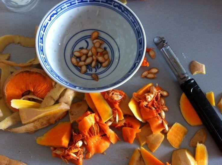 Comment recycler les graines de courges, comment les consommer... Trucs et astuces.