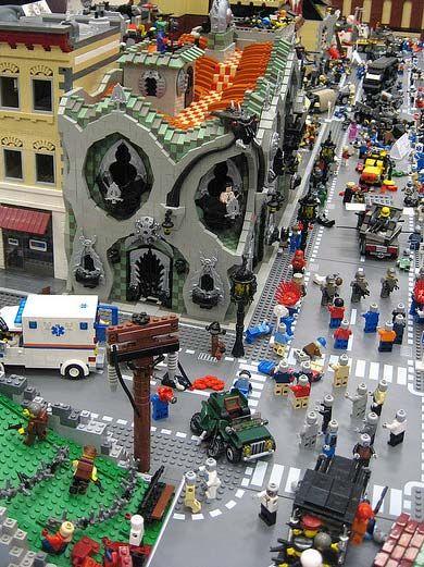 Lego Zombie Apocalypse