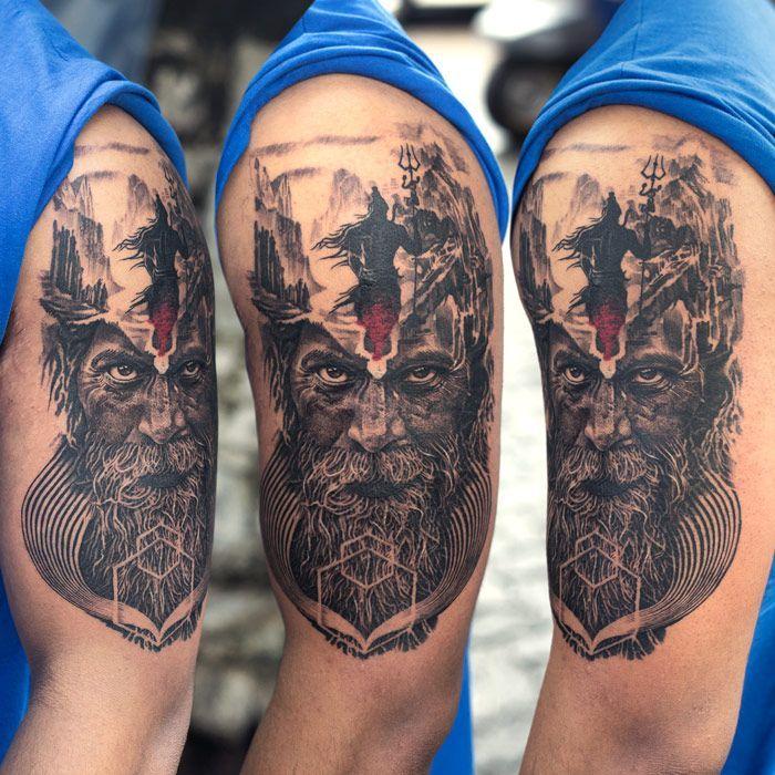 best 25 shiva tattoo ideas on pinterest shiva tattoo design trishul and om trishul tattoo. Black Bedroom Furniture Sets. Home Design Ideas