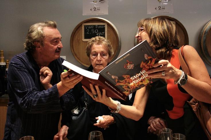 Con due mie bellissime parenti, alla presentazione di Eataly a Roma