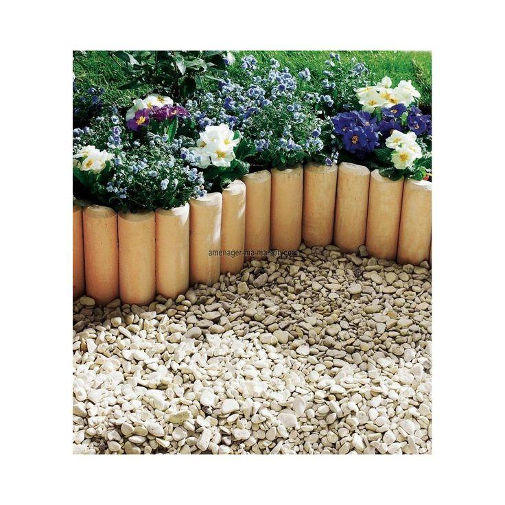17 meilleures id es propos de bordure pierre sur for Amenager son jardin avec des pierres