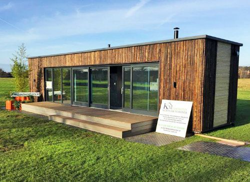Holidy Suites 40FT Shipping Container House