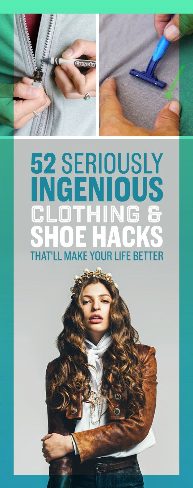52 Seriously Ingenious Clothing And Shoe Hacks That'll Make Your Life Easier