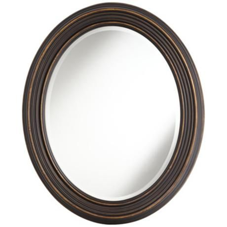 42 best images about bathroom mirrors on pinterest oval - Oil rubbed bronze bathroom mirrors ...