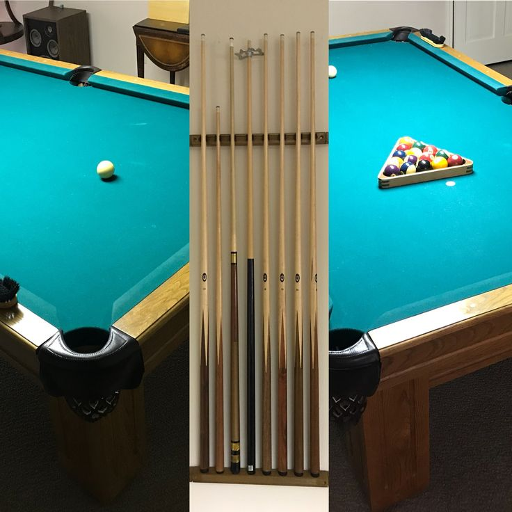Pool Table & Accessories; This is a great family pool table in great shape and can be yours