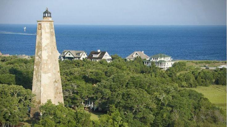 Bald Head Island Ferry   Beach Cottage in North Carolina that Nicholas Sparks Should Love