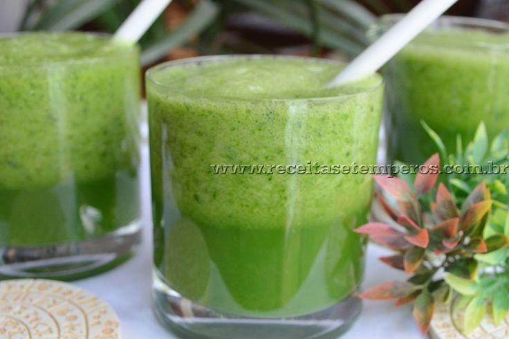 Suco verde desintoxicante | Receitas e Temperos