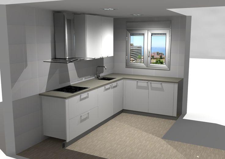 escena III diseño de cocina - Doca