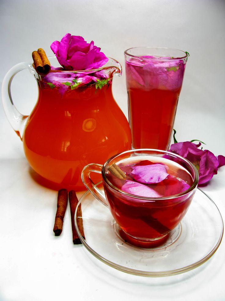 Sirop de trandafiri - Retete culinare - Romanesti si din Bucataria internationala