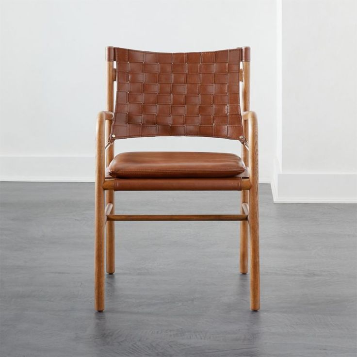 Dining Chairs Leather, Leather Campaign Dining Chair