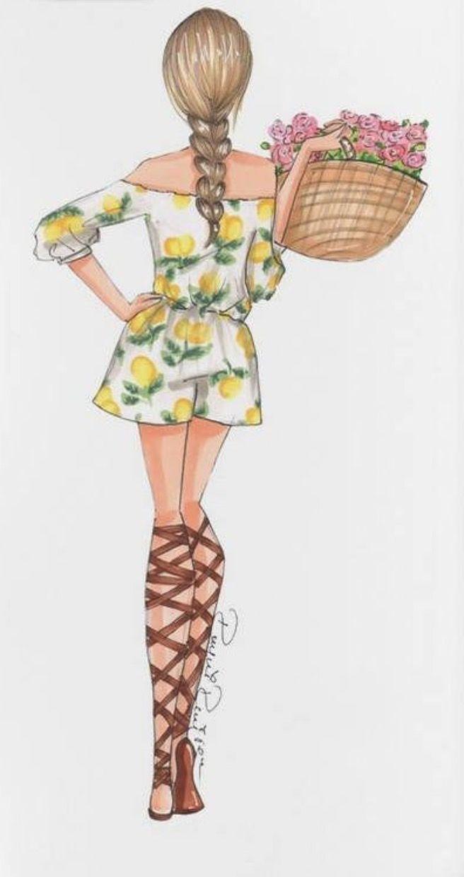 S U M M E R #FashionIllustrations @reyniramirezillustrations| Be Inspirational ❥|Mz. Manerz: Being well dressed is a beautiful form of confidence, happiness & politeness