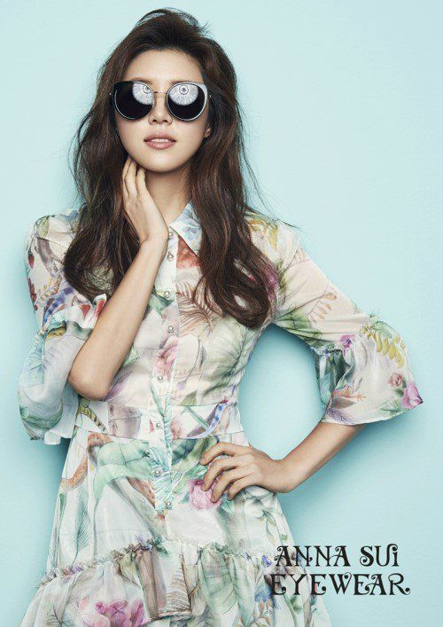 Park Han Byul is the gorgeous new model for 'Anna Sui Eyewear'!   allkpop.com