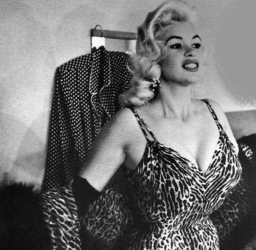 Jayne Mansfield, 1950 s