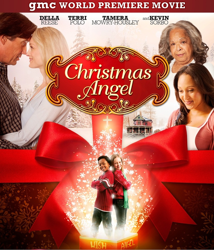 Christmas Angel- gmc ch. 188 #DISH A young girl tries to prove that the mysterious old lady next door is really an angel, when some of the Christmas wishes of the neighborhood kids start coming true. Stars: Teri Polo, Della Reese, Kevin Sorbo, Tamera Mowry, Izabela Vidovic.