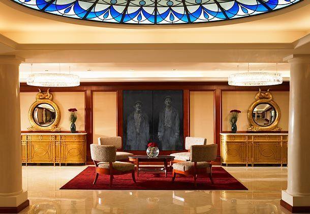 Luxury Shelbourne Hotel Dublin Reception