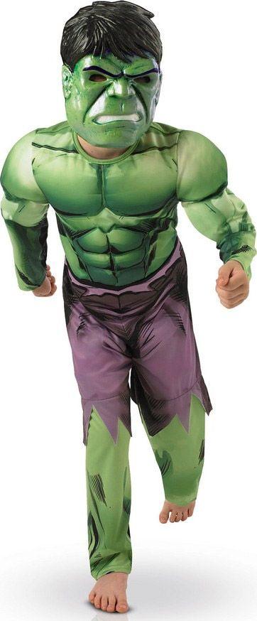 Este disfraz de Hulk es perfecto para unirte al grupo de Los Venagadores en Carnaval o en cualquier otra fiesta de disfraces.