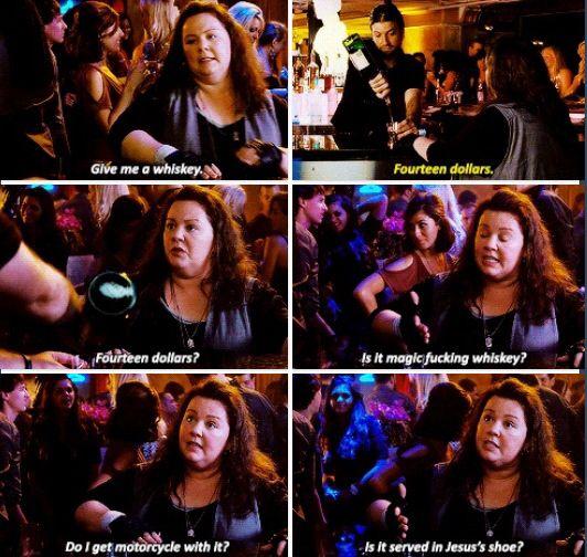 Melissa McCarthy hahahahaha hilarious!!
