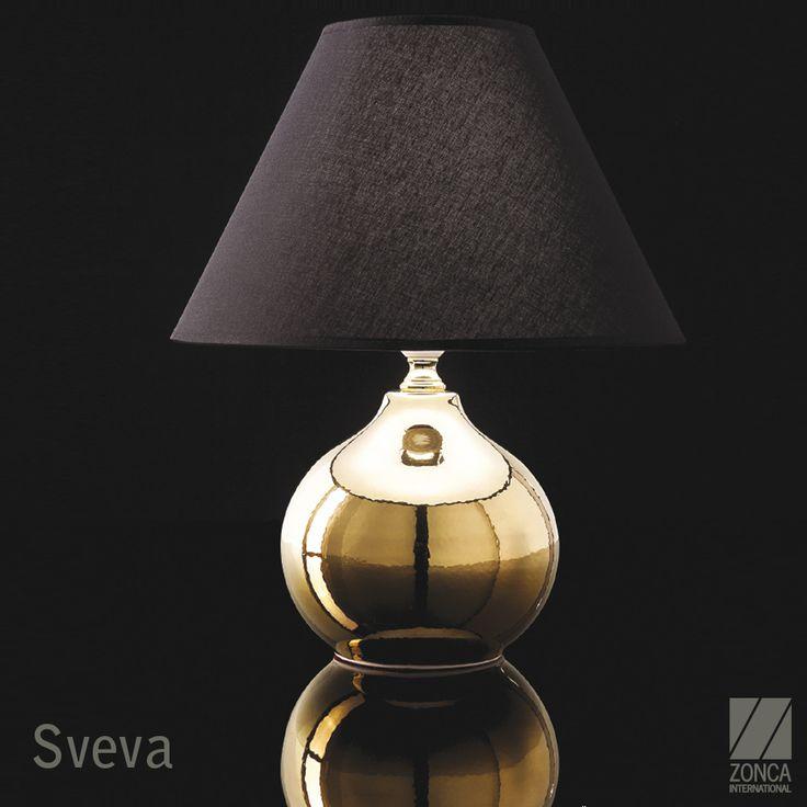 Sveva Modern Bedside Lamp - Design: Zonca #zonca #zoncalighting #madeinzonca