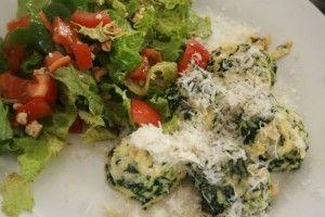 Spinach Ricotta Gnocchi - Dinner