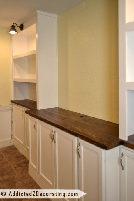 These cabinets would be great in a small narrow kitchen.  Love the varied size of the storage space.  MDF vs. Plywood — Differences, Pros and Cons, and When To Use What