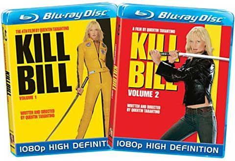 Kill Bill 1 y 2 en hd