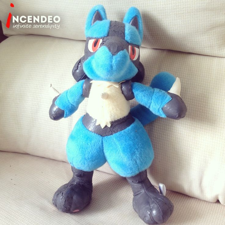 "Tomy Takara Pokemon Lucario 13"" Soft Toy (2005). #pokemon #pokemongo #lucario #tomy #takara #official #japan #gotcha #catchthemall #softtoy #bandai #toys #collection #collectibles #incendeo #infiniteserendipity #nintendo #精灵宝可梦go #宝可梦 #玩具 #收藏"
